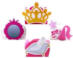 Kit Forminhas Princesa 2