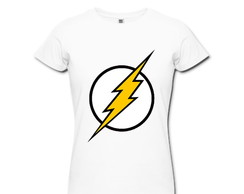 Camiseta Estampada Her�is Flash