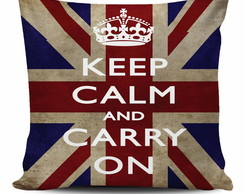 Almofada Keep Calm - Carry On