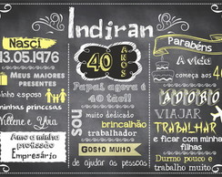 arte digital chalkboard adulto