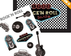 Kit Decorativo Rock�n Roll