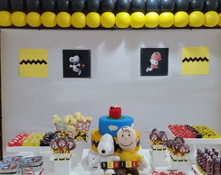 Decora��o de Festa Infantil do Snoopy