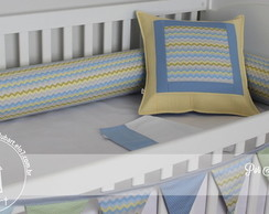 Kit para ber�o ou montessori - Chevron