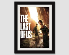 Quadro 45x35cm Tlou Games The Last Of Us