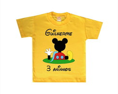Camiseta Infantil A Casa do Mickey