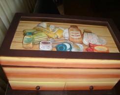 Caixa de Medicamentos em Arte Francesa