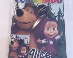 kit de colorir urso