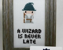 Quadro Gandalf (A wizard is never late)