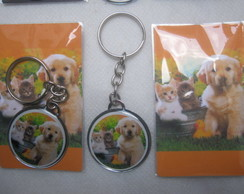 KIT CHAVEIROS PERSONALIZADO PET ANIVERS�