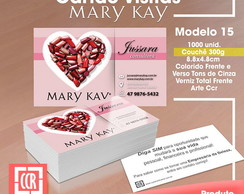Cart�o de visitas | Mary Kay