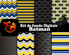Kit de fundos Digitais - Batman