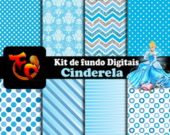 Kit fundos digitais- Cinderela