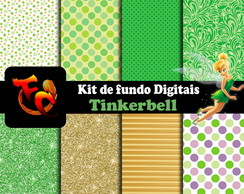 Kit de fundos Digitais -Tinkerbell