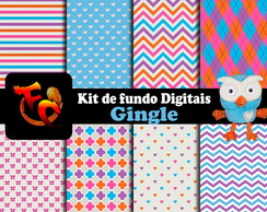 Kit de fundos Digitais - Gingle