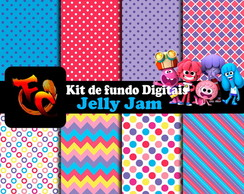 Kit de fundos Digitais - Jelly Jam