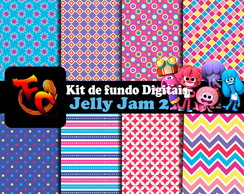 Kit de fundos Digitais - Jelly Jam 2