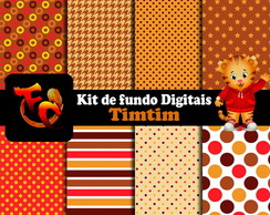Kit de fundos Digitais - Timtim