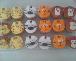"Cupcake ""Bichinhos do SAFARI"""
