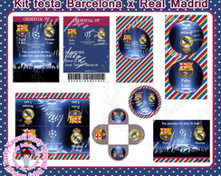 Kit digital Barcelona x Real Madrid
