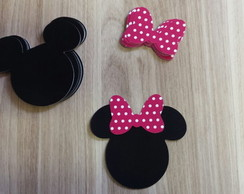 Recorte Cabe�a Minnie