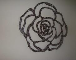 Flor Decorativa com relevo