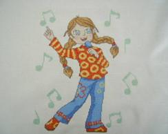 Menina cantora