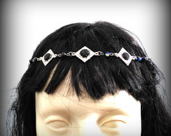 Headband Dama Dark