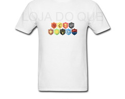 Camiseta Tshirt - CASAS GAME OF THRONES