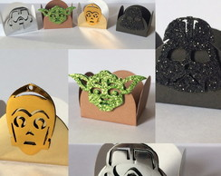 FORMINHAS P/ DOCES - STAR WARS