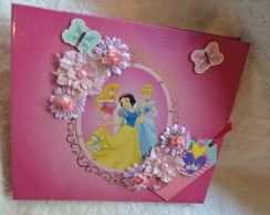 �lbum de scrap Princesas Disney