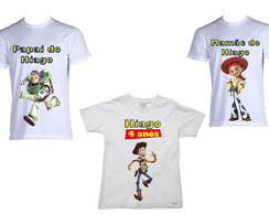 Kit de Camisetas Toy Story