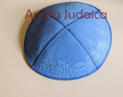 Kip� Borda Jerusal�m Azul Royal