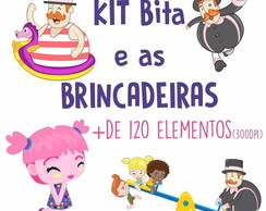 Kit Digital Bita E As Brincadeiras