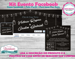 Kit Evento Facebook - modelo alone