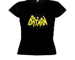 Camiseta baby look batman