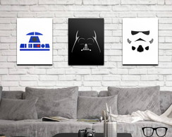 Cole��o Quadros Star Wars