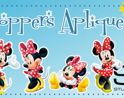 Toppers Apliques Minnie