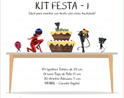 Kit Festa 1 - Miraculous Ladybag