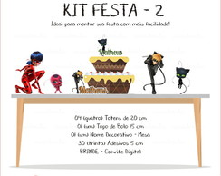Kit Festa 2 - Miraculous Ladybag
