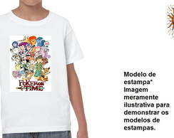 Camiseta Camisa pokemon time