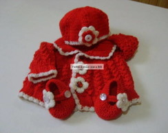 Kit beb� Red Flowers