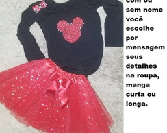 Roupa conjunto da minnie Fantasia minnie