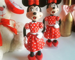 Minnie Mouse em biscuit