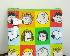 N�cessaire Turma do Charlie Brown-Snoopy