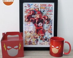 Kit The Flash P�ster + Caneca