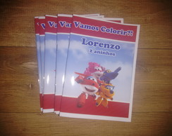 Livro de Colorir Super Wings 14x10