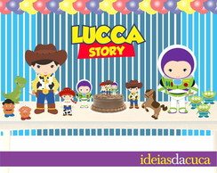 Kit Festa Decora��o Toy Story