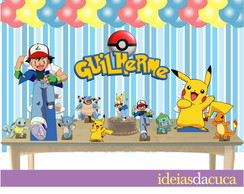 Kit Festa Decora��o Pokemon Personalizad