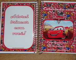 Mini Caderno de Colorir 14*10 cm