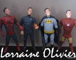 Caricatura - Super-herois